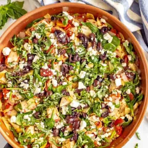 Quick and easy Mediterranean chicken
