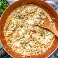 Easy cream cheese chicken