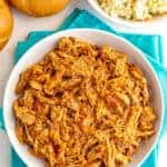 Instant Pot pulled pork {3 ingredients}