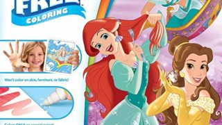Crayola Color Wonder Disney Princess Coloring Book Pages & Markers, Mess Free Coloring, Gift for Kids