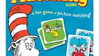 Wonder Forge Dr. Seuss Matching Game For Boys & Girls Age 3 & Up - A Fun & Fast Whimsical Memory Game