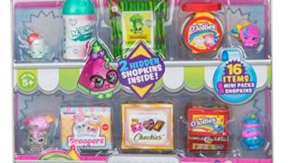 Shopkins New Families in Collectible Mini Pack - 16 Piece