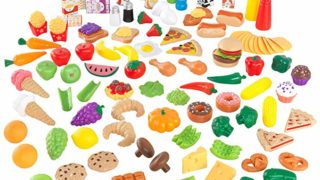 KidKraft Tasty Treats Play Food Set (115 Pieces)