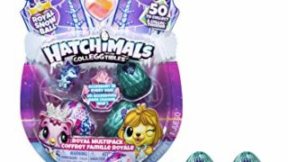 Hatchimals CollEGGtibles, Royal Multipack with 4 and Accessories, for Kids Aged 5 and Up (Styles May Vary)