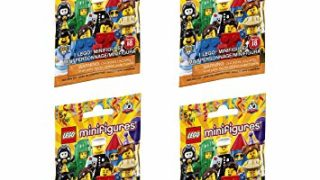 LEGO Minifigure Series 18 - New Sealed Blind Bags - Random Set of 4 (71021)