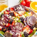 Berry beet salad