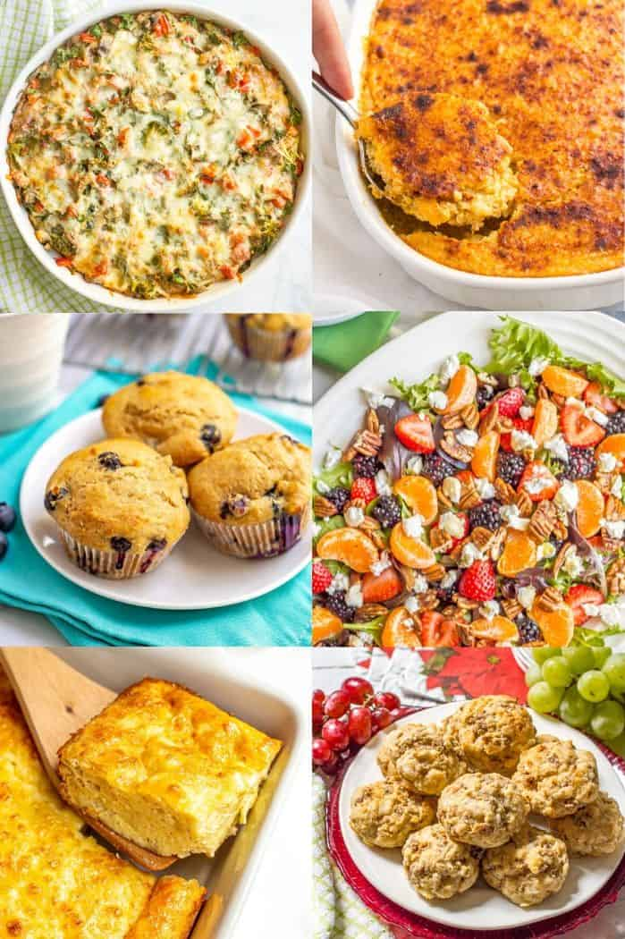 A collage of breakfast and brunch recipes