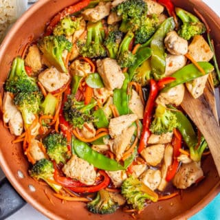 Honey Garlic Chicken Stir Fry Family Food On The Table