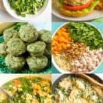 Ways to use fresh spinach