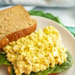 Classic egg salad (+ video)