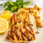 Grilled Lemon Chicken (+ video)