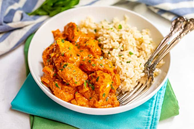 Easy Chicken Tikka Masala Video Family Food On The Table