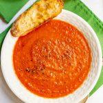 Creamy tomato soup (+ video)