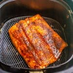 Southwest Air Fryer salmon