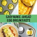 5 easy make-ahead egg breakfasts