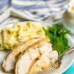 Slow cooker turkey breast (bone-in)