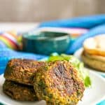 Easy baked falafel and tahini sauce (+ video)