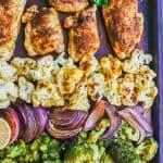 Sheet Pan Indian Chicken and Veggies